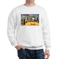 Tampa Florida Greetings Sweatshirt