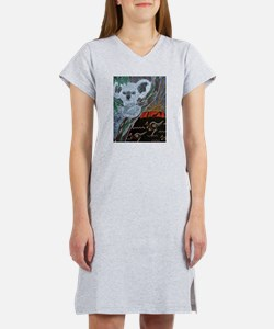 Koala Kangaroo Sunset Women's Nightshirt