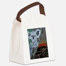 Koala Kangaroo Sunset Canvas Lunch Bag