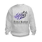 Tribal rabbit Kids Sweatshirt