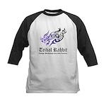 Tribal rabbit Kids Baseball Jersey