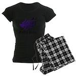 Tribal rabbit Women's Dark Pajamas