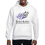 Tribal rabbit Hooded Sweatshirt