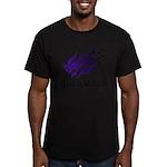 Tribal rabbit Men's Fitted T-Shirt (dark)