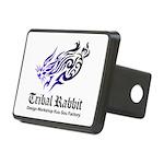 Tribal rabbit Rectangular Hitch Cover