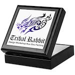 Tribal rabbit Keepsake Box