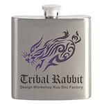 Tribal rabbit Flask