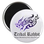Tribal rabbit Magnet