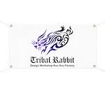Tribal rabbit Banner