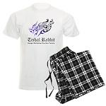 Tribal rabbit Men's Light Pajamas