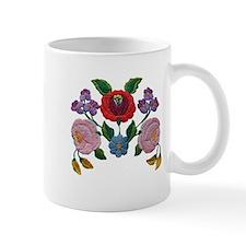 Kalocsai hand embroidery floral pattern Mug
