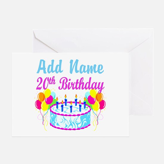 20Th Birthday 20th Birthday Greeting Cards – Images of Birthday Greeting