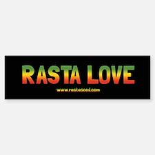 One Love Rasta Sticker (Bumper)