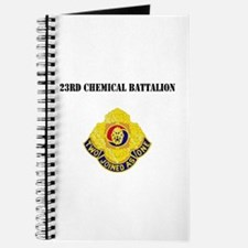 DUI - 23rd Chemical Battalion with Text Journal
