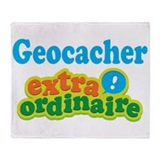 Geocacher Extraordinaire Throw Blanket