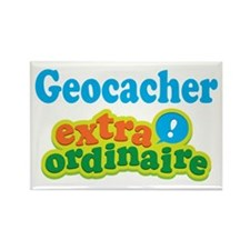 Geocacher Extraordinaire Rectangle Magnet