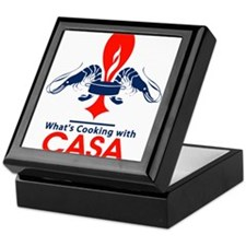 What's Cookin' with CASA Keepsake Box
