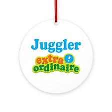 Juggler Extraordinaire Ornament (Round)