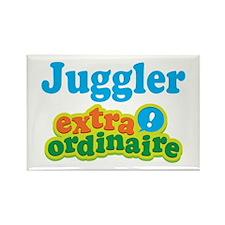 Juggler Extraordinaire Rectangle Magnet