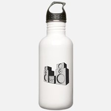 The Great Stereo System Water Bottle
