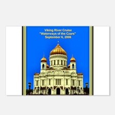 "Viking ""Waterways of the Czars"" (9/6/06)  Postcard"