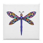 Dragonfly #1 Tile Coaster