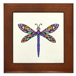 Dragonfly #1 Framed Tile