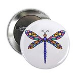 "Dragonfly #1 2.25"" Button (10 pack)"