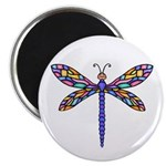 "Dragonfly #1 2.25"" Magnet (10 pack)"
