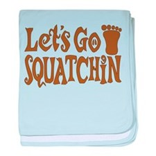 Let's Go Squatchin! baby blanket