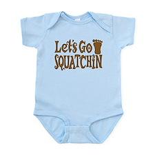 Let's Go Squatchin! Infant Bodysuit