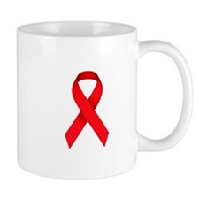 Red Ribbon Mug