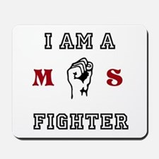 m.s fighter Mousepad