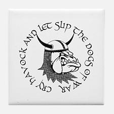 Havoc Bulldog Tile Coaster