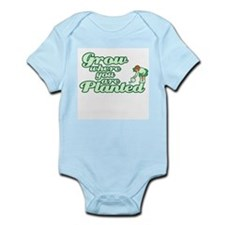 Grow where you are PLANTED Infant Bodysuit