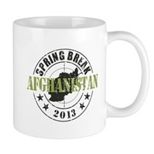 Spring Break Afghanistan 2013 Mug