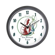 Hookah Smoking Caterpillar Wall Clock