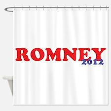 Romney 2012 Shower Curtain