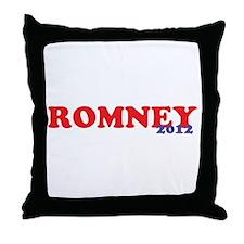 Romney 2012 Throw Pillow