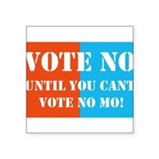 Vote No! Marriage Amendment and Voter ID Square St