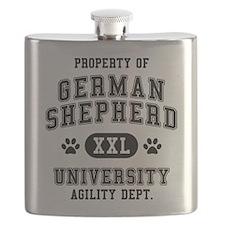Property of German Shepherd Flask