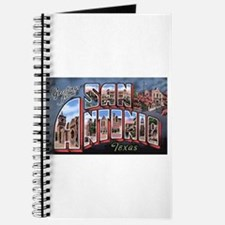 San Antonio Texas Greetings Journal