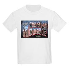 San Antonio Texas Greetings (Front) Kids T-Shirt