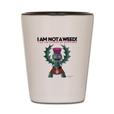 Weed? Shot Glass