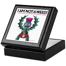 Weed? Keepsake Box