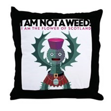 Weed? Throw Pillow