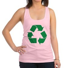 recycle_g.png Racerback Tank Top