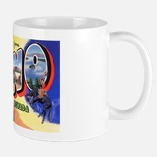 Reno Nevada Greetings Mug