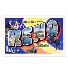 Reno Nevada Greetings Postcards (Package of 8)