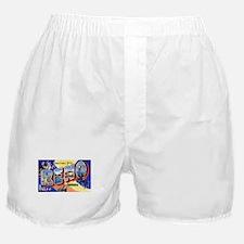 Reno Nevada Greetings Boxer Shorts